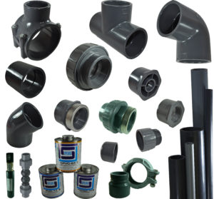 PVC & CPVC Schedule 80 Pipe & fittings index