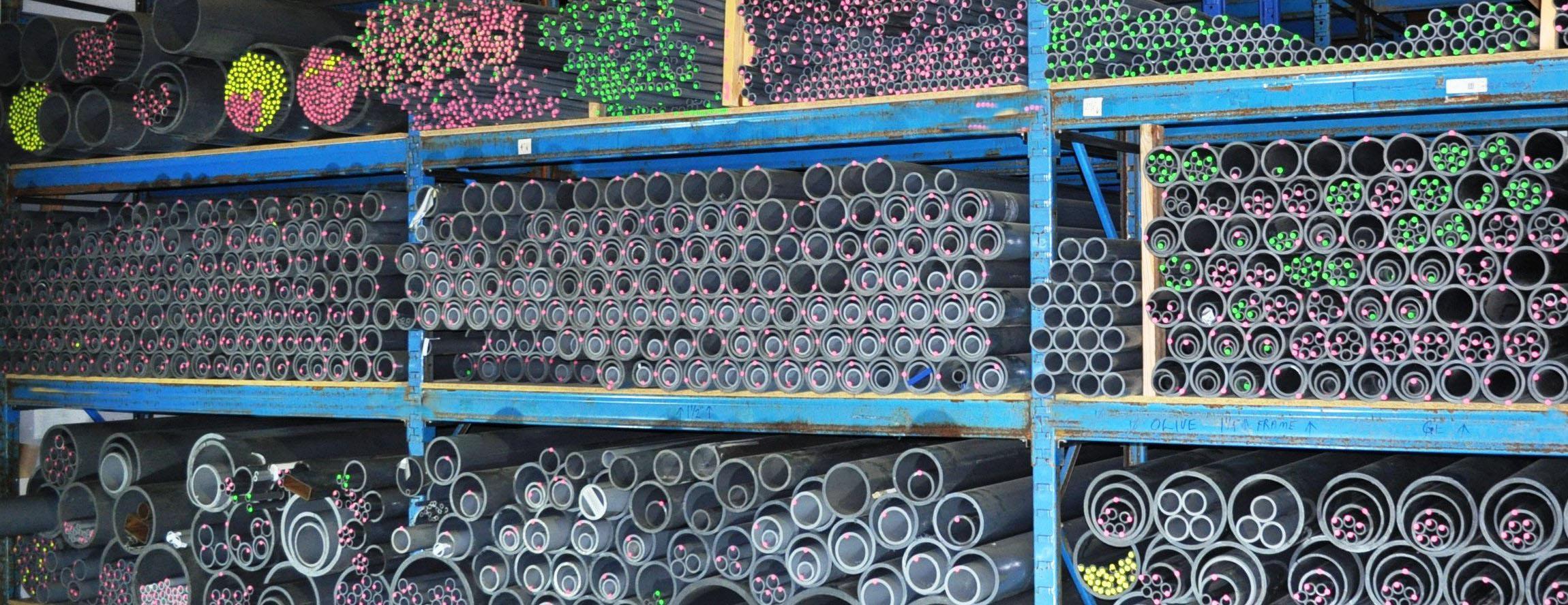 PVC & CPVC Pipe Stock