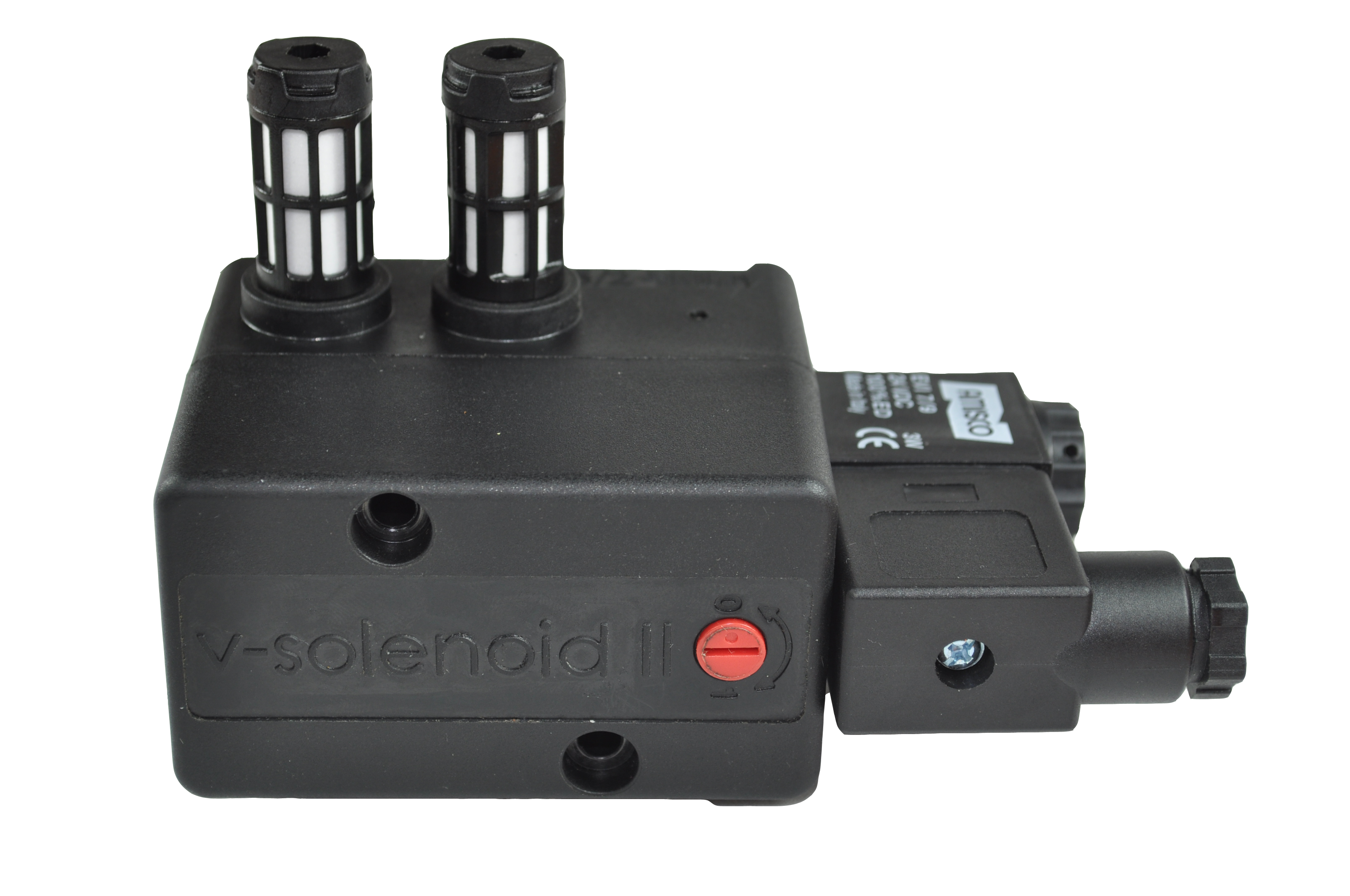 corrosion proof solenoid with manual override